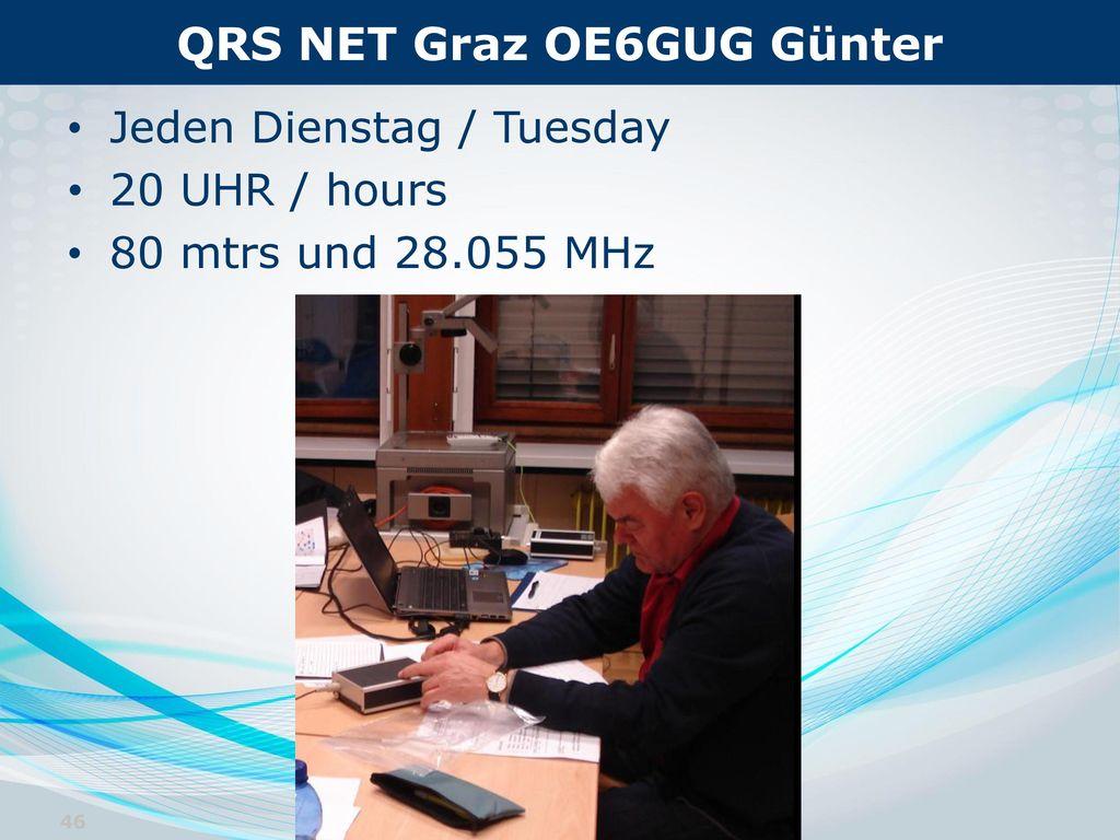 QRS NET Graz OE6GUG Günter