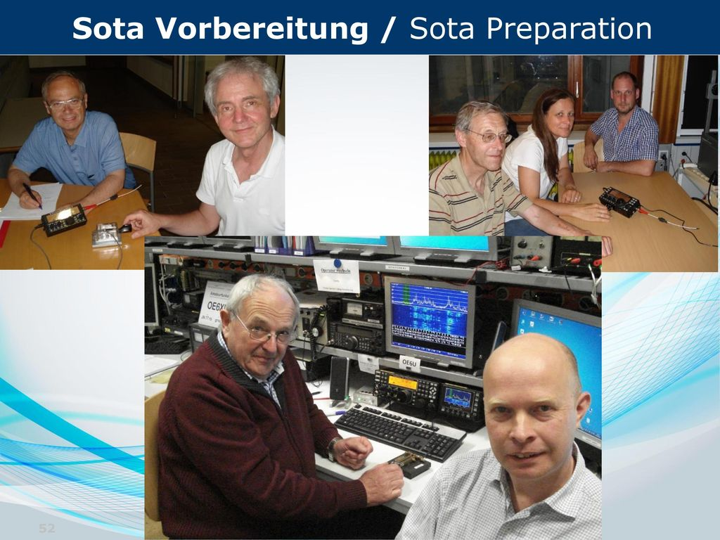 Sota Vorbereitung / Sota Preparation