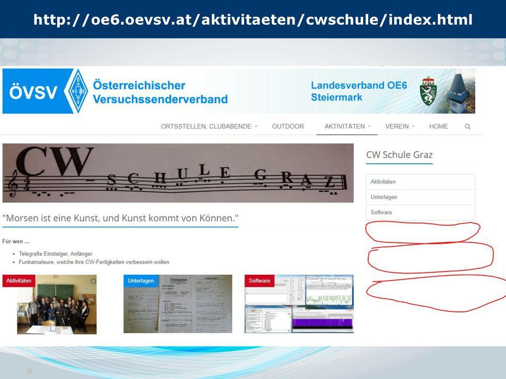 http://oe6.oevsv.at/aktivitaeten/cwschule/index.html