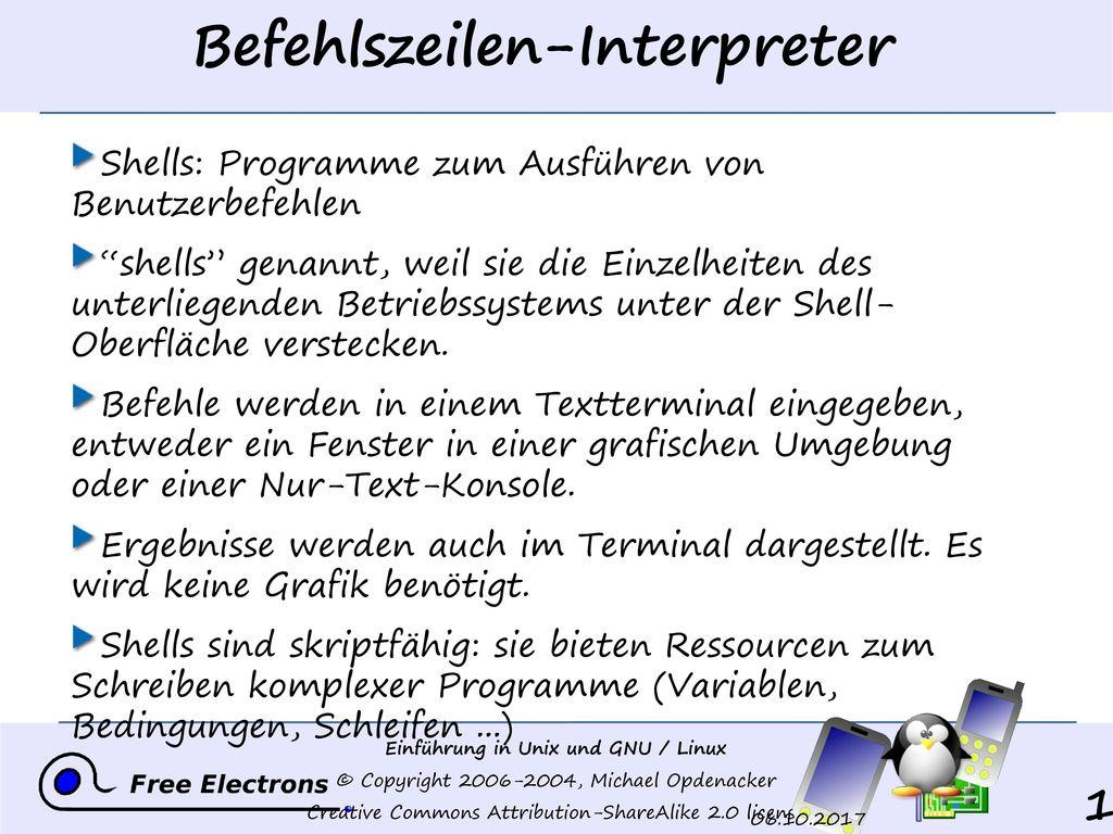 Befehlszeilen-Interpreter