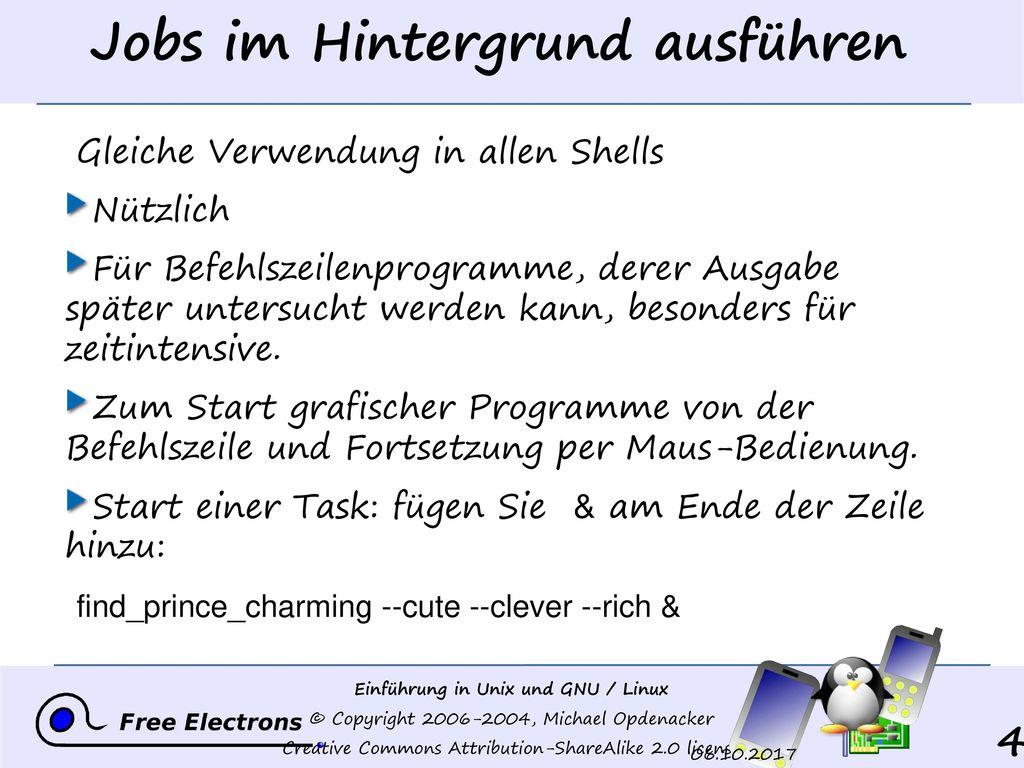Jobs im Hintergrund ausführen