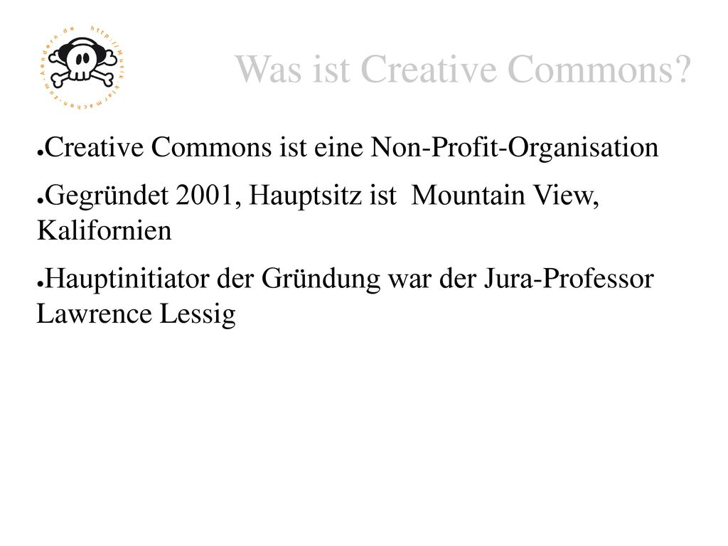 Was ist Creative Commons