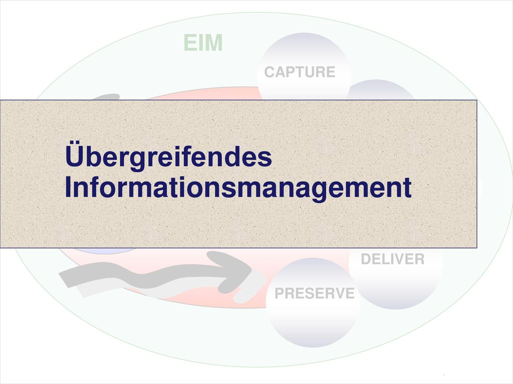 Übergreifendes Informationsmanagement