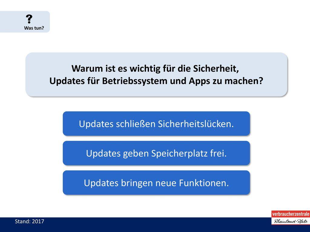 Updates schließen Sicherheitslücken.