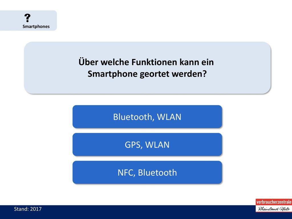 Über welche Funktionen kann ein Smartphone geortet werden