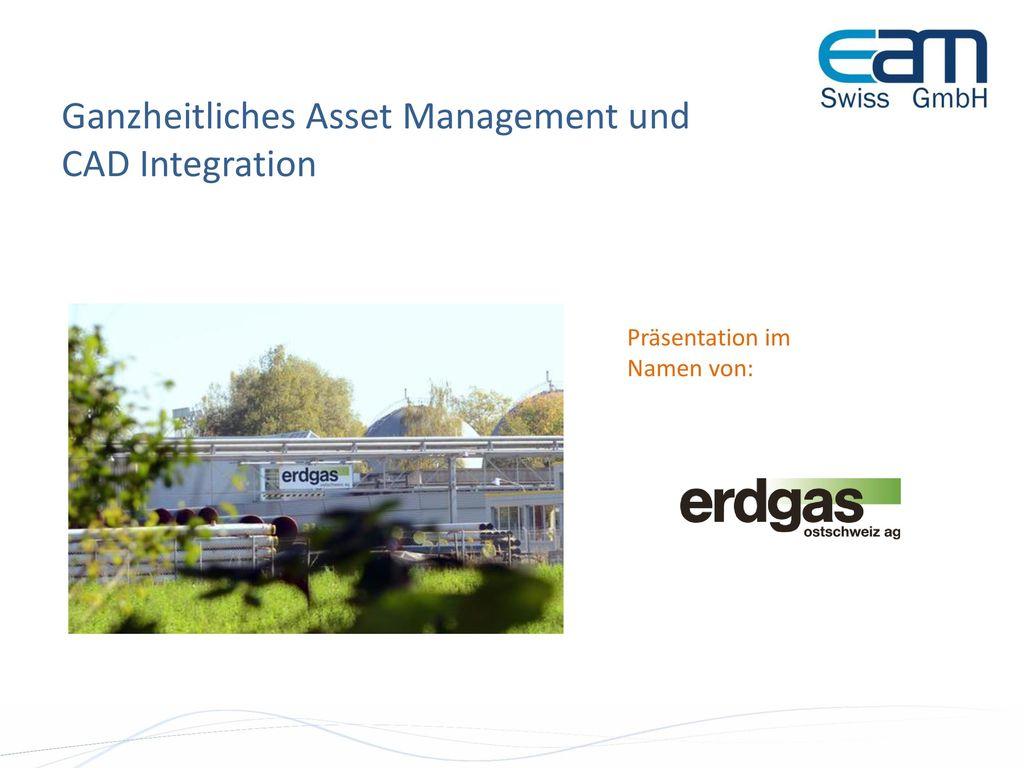 Ganzheitliches Asset Management und CAD Integration