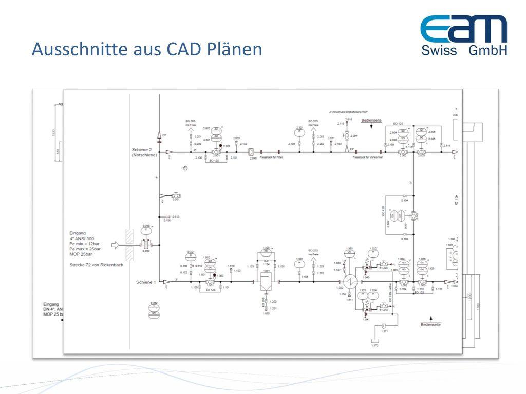 Ausschnitte aus CAD Plänen