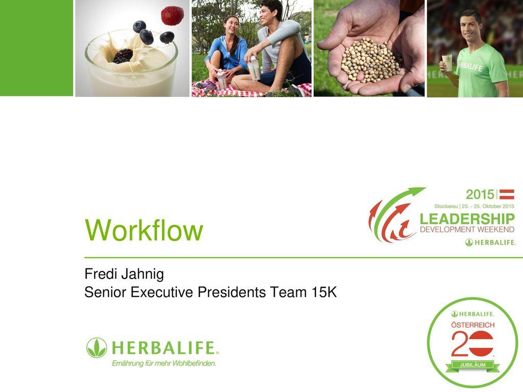 Fredi Jahnig Senior Executive Presidents Team 15K