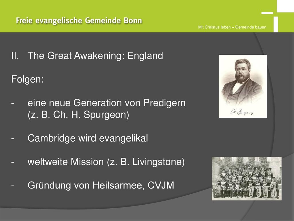 The Great Awakening: England Folgen: