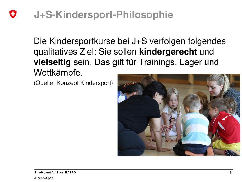 J+S-Kindersport-Philosophie