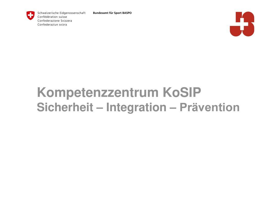 Kompetenzzentrum KoSIP
