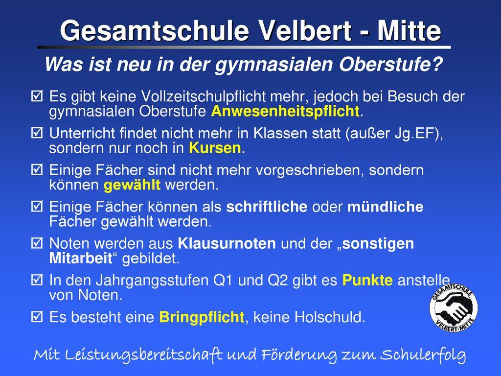 Gesamtschule Velbert - Mitte