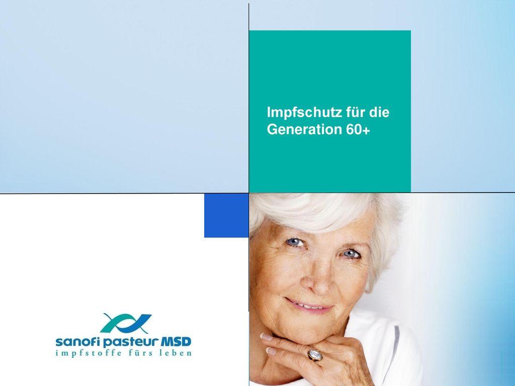 Impfschutz für die Generation 60+