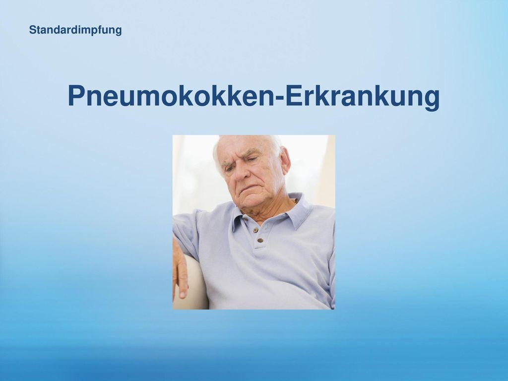 Pneumokokken-Erkrankung