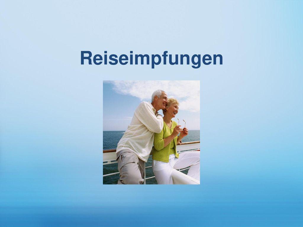 Reiseimpfungen Infektionskrankheiten sind für Senioren im Urlaub besonders gefährlich.