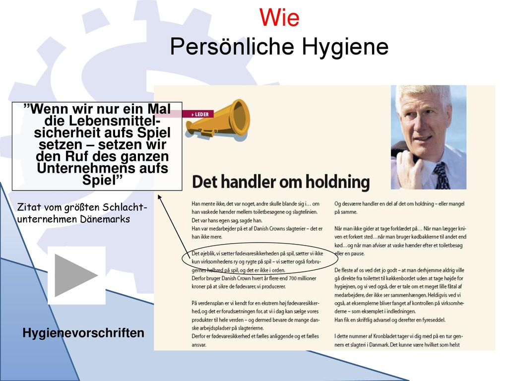 Wie Persönliche Hygiene