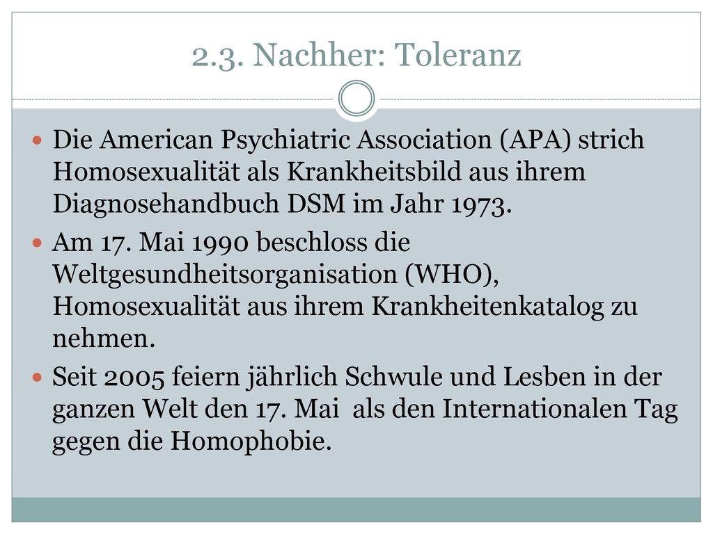 2.3. Nachher: Toleranz