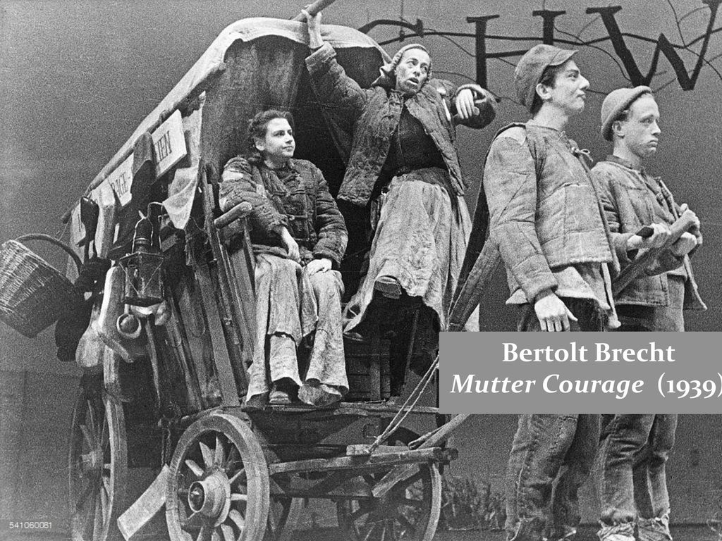 Bertolt Brecht Mutter Courage (1939)
