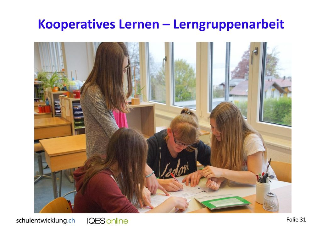 Kooperatives Lernen – Lerngruppenarbeit