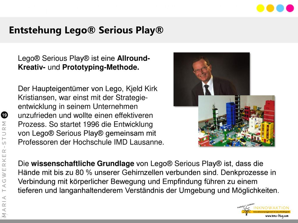 Entstehung Lego® Serious Play®