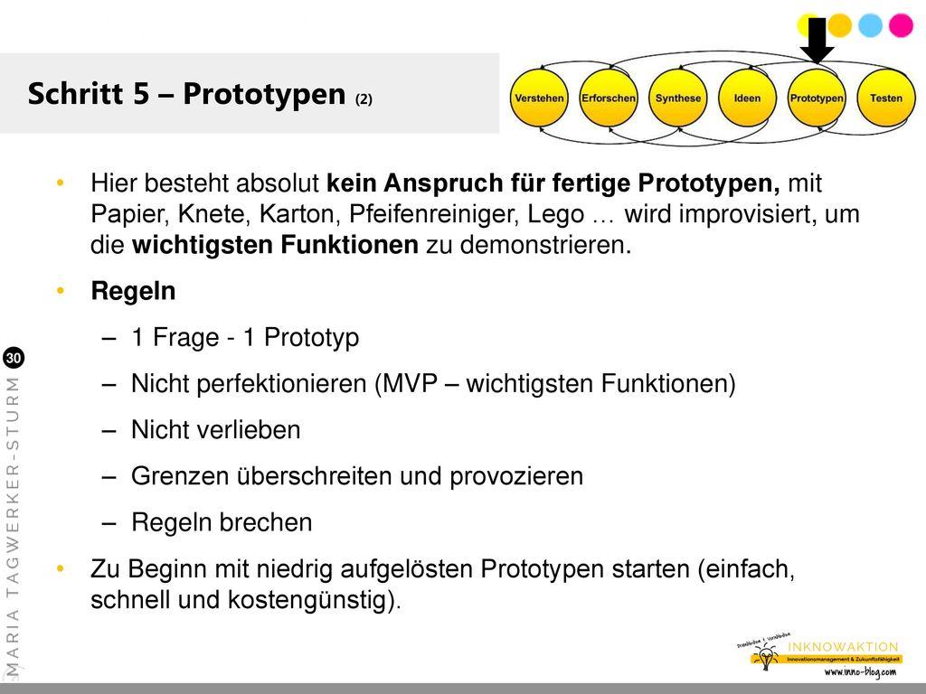 Schritt 5 – Prototypen (2)