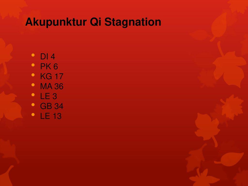 Akupunktur Qi Stagnation