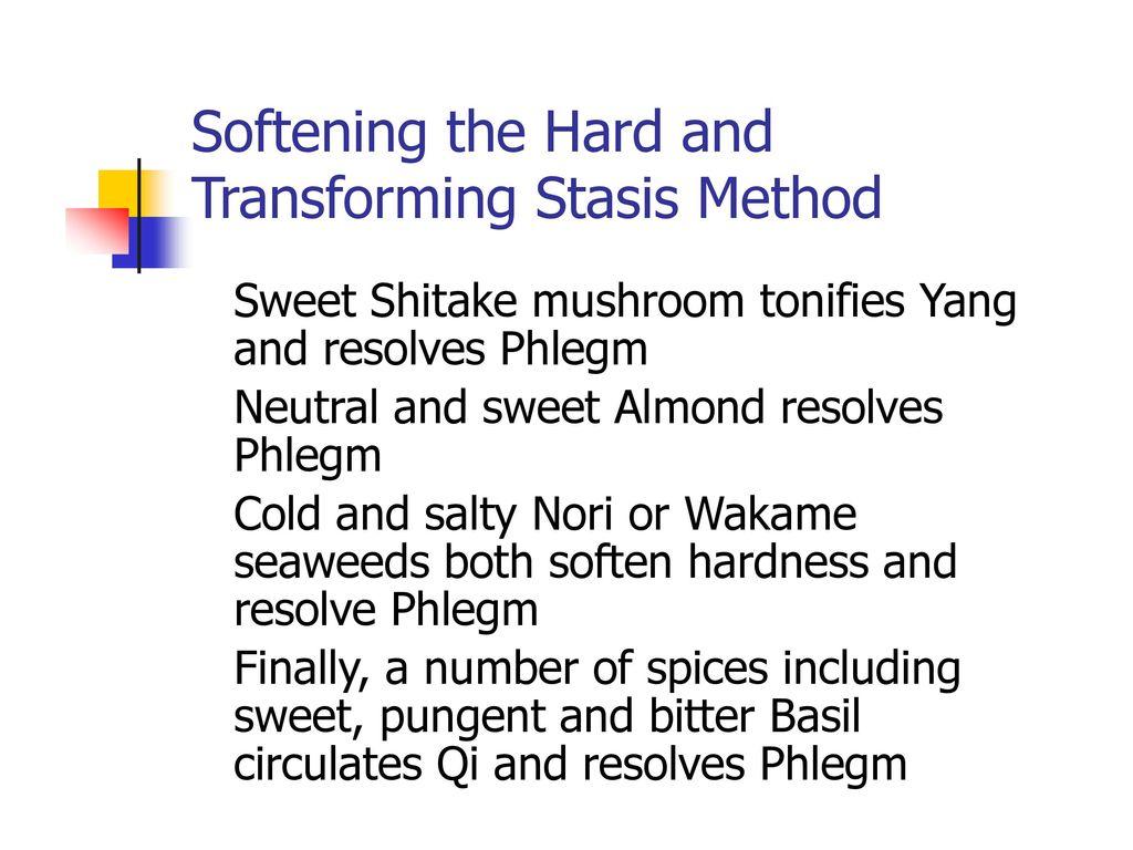 Transforming Stasis Method