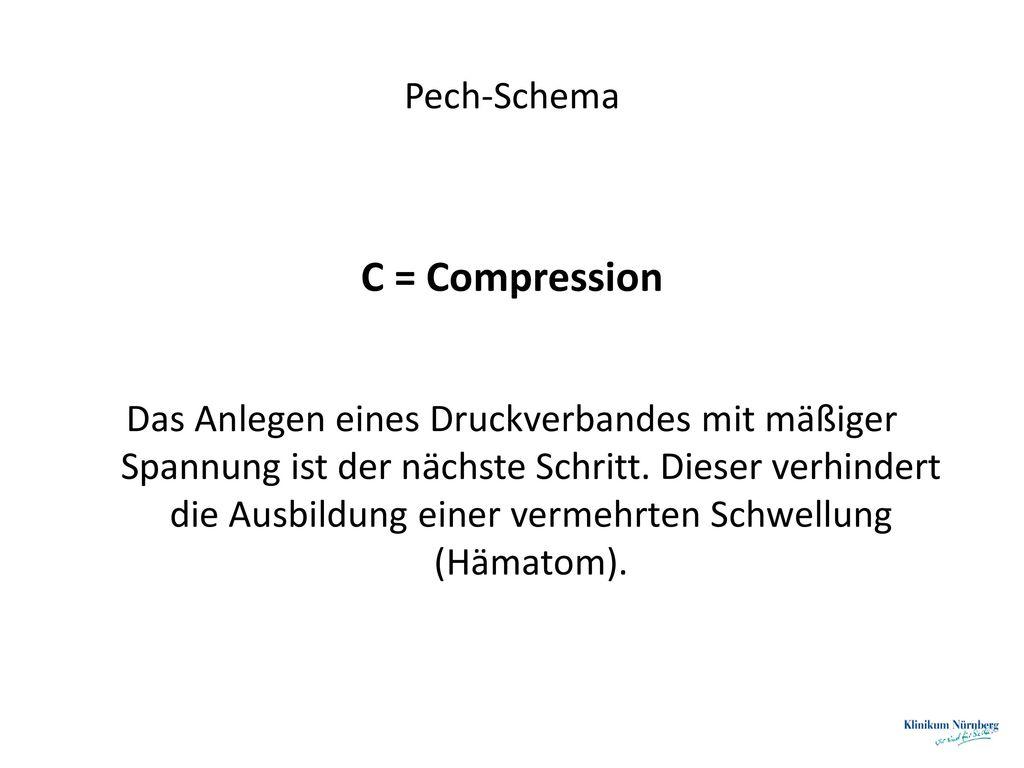 C = Compression Pech-Schema