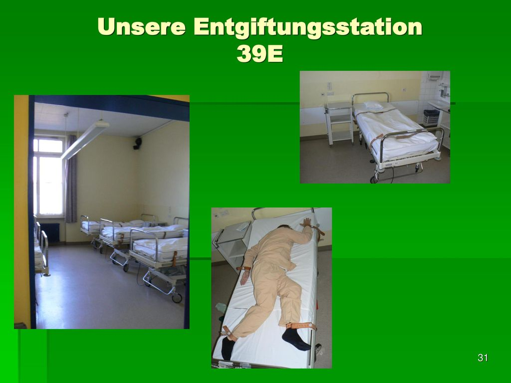 Unsere Entgiftungsstation 39E