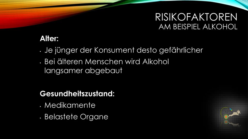 Risikofaktoren am Beispiel Alkohol