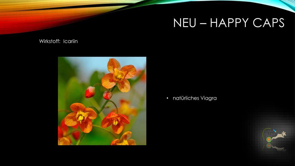 NEU – Happy caps Wirkstoff: Icariin natürliches Viagra