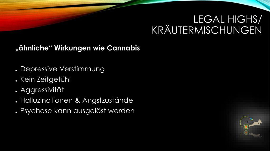 Legal Highs/ Kräutermischungen