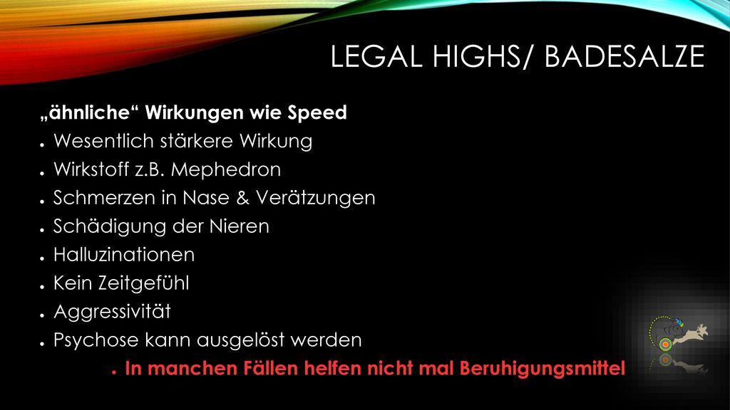 Legal Highs/ Badesalze