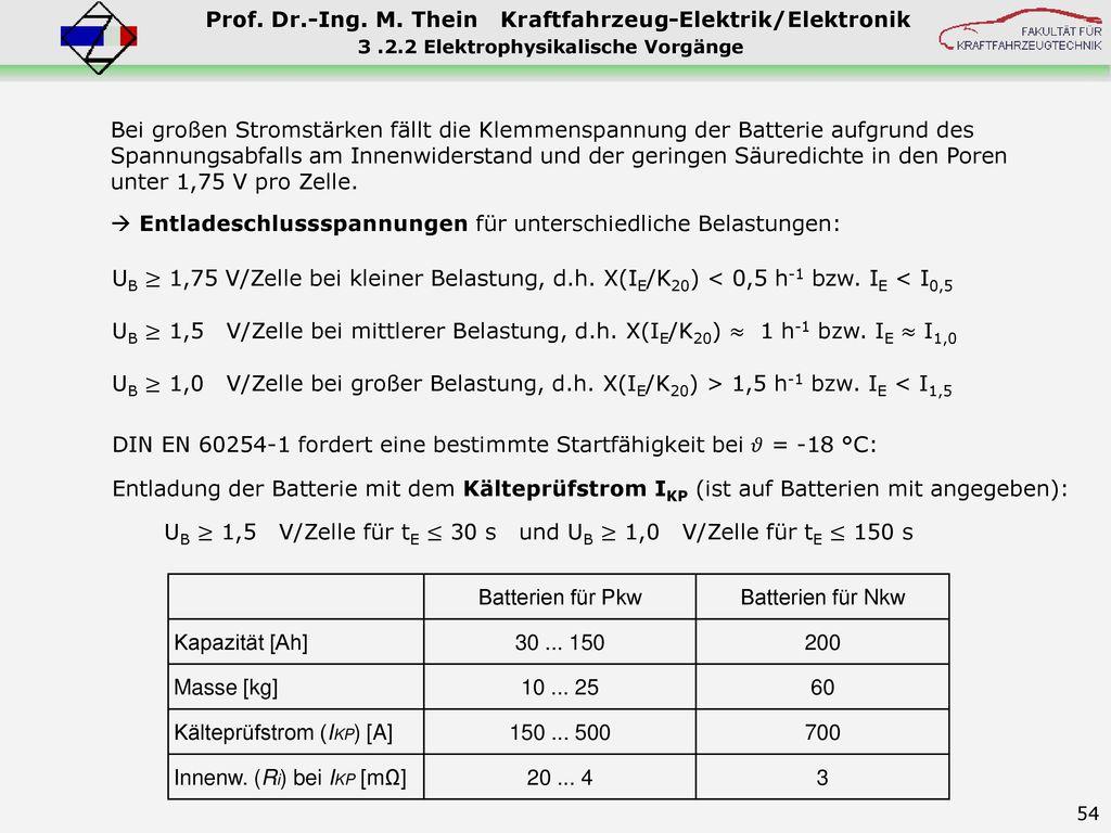3 .2.2 Elektrophysikalische Vorgänge