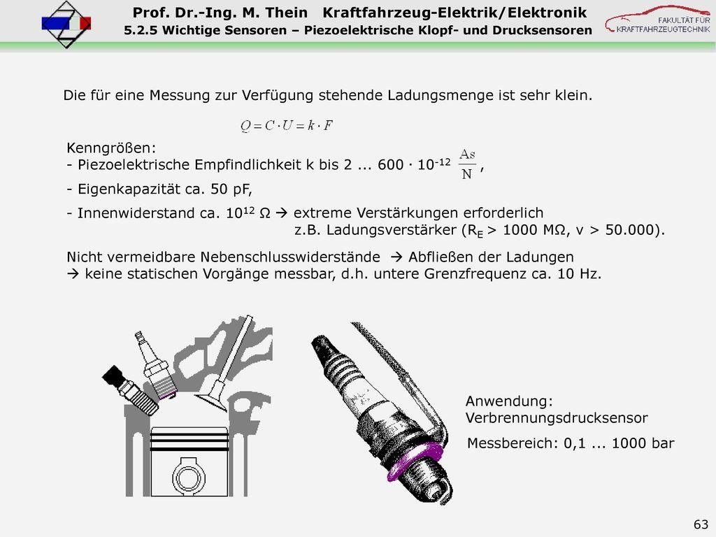 5.2.5 Wichtige Sensoren – Piezoelektrische Klopf- und Drucksensoren