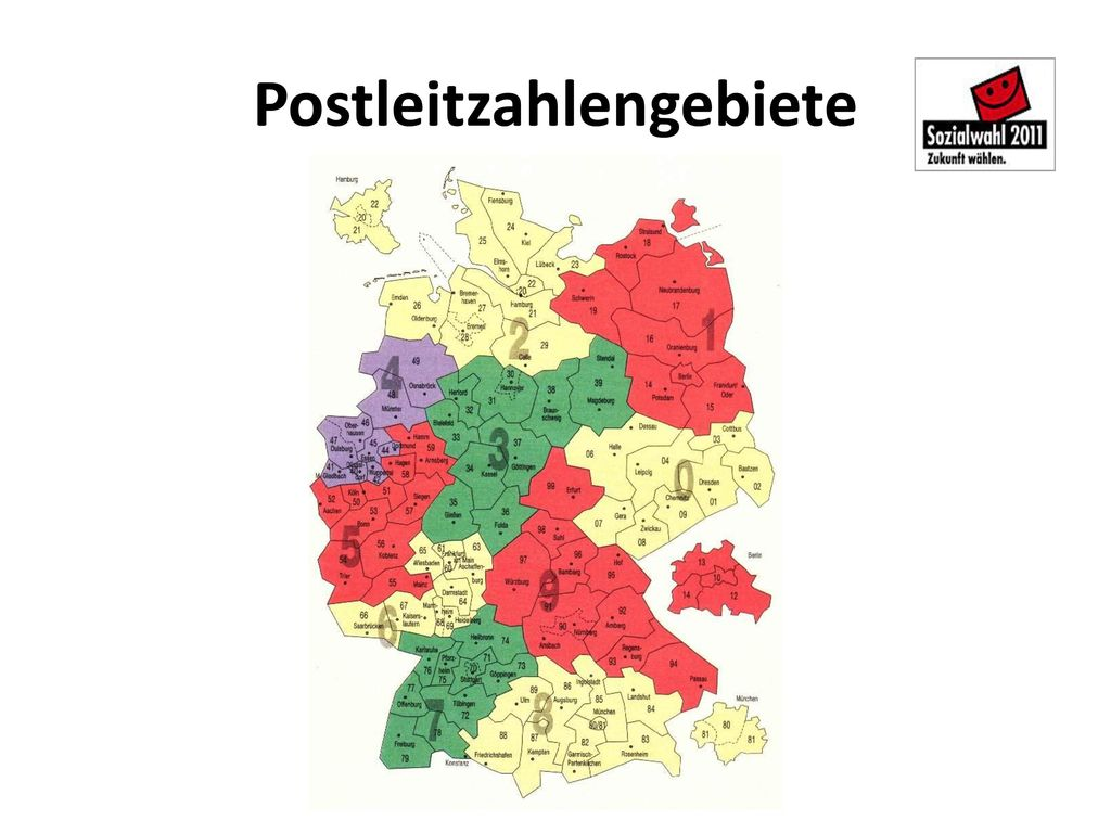 Postleitzahlengebiete