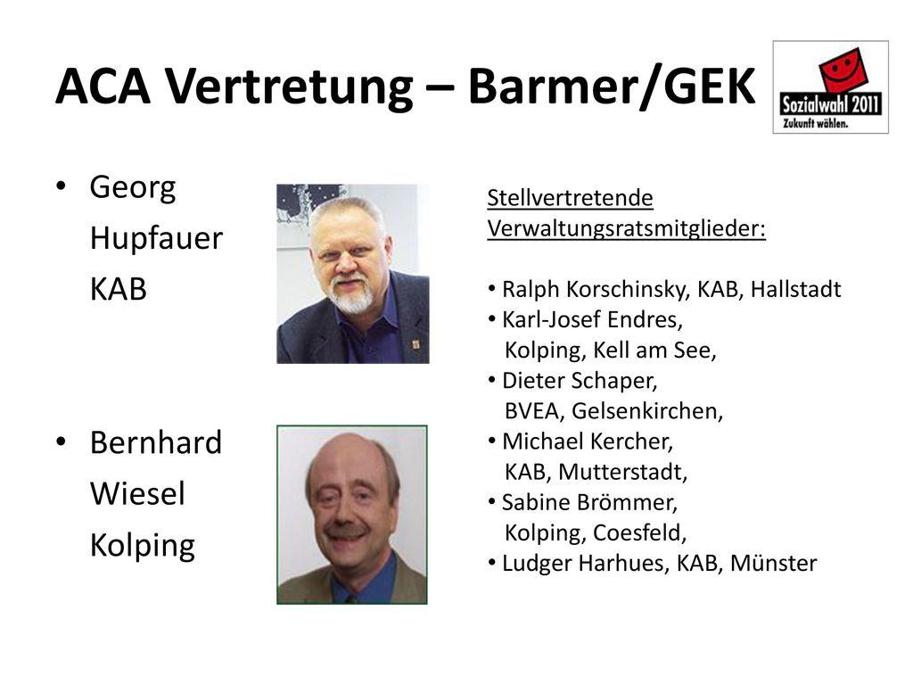 ACA Vertretung – Barmer/GEK