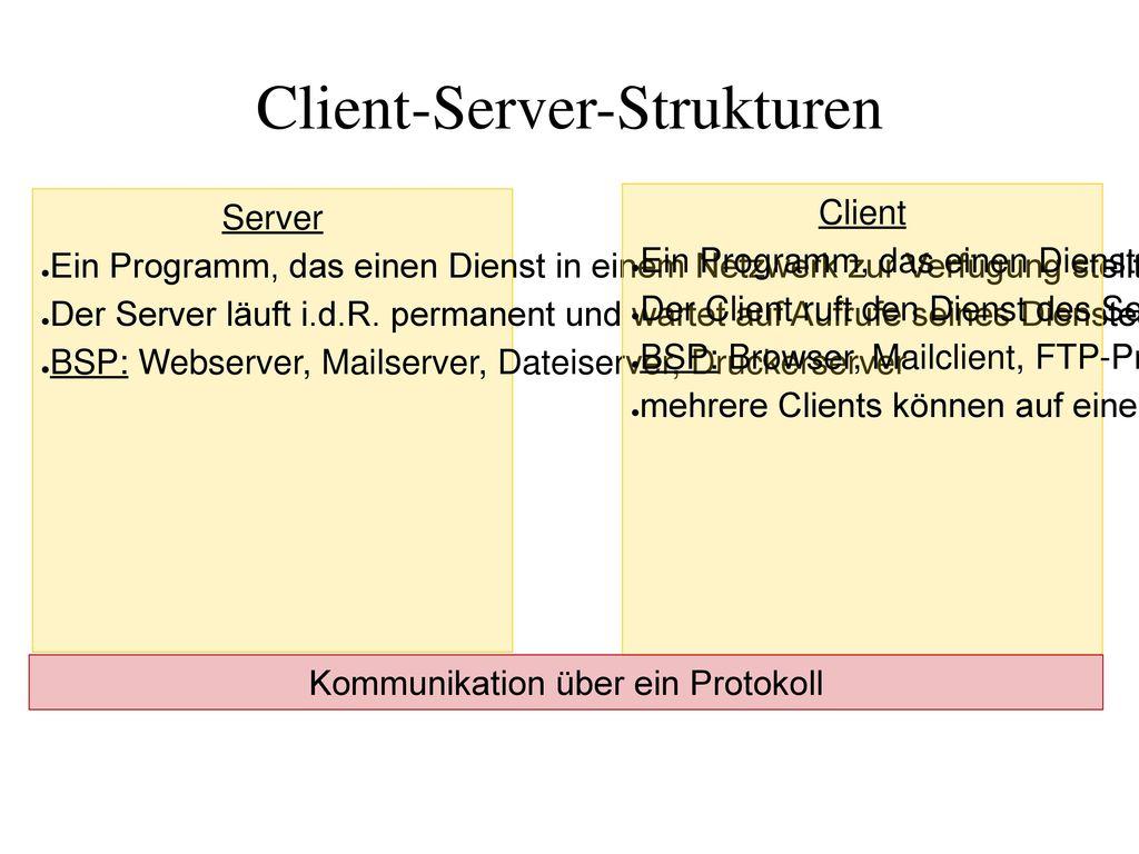 Client-Server-Strukturen