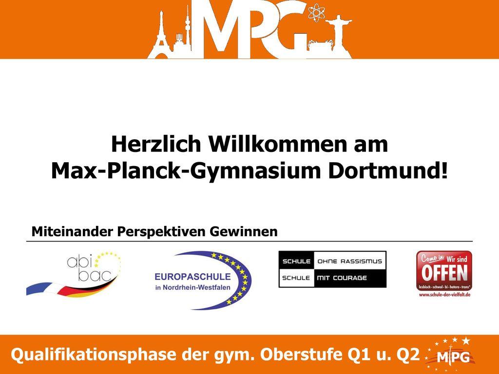 Herzlich Willkommen am Max-Planck-Gymnasium Dortmund!