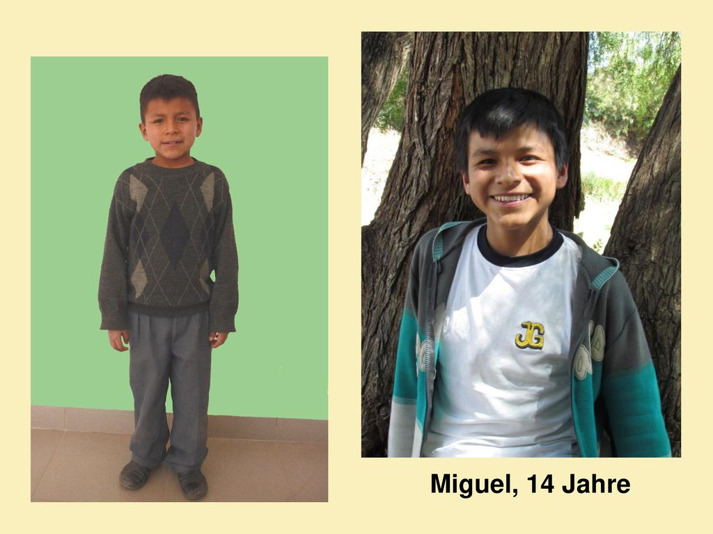 Miguel, 14 Jahre