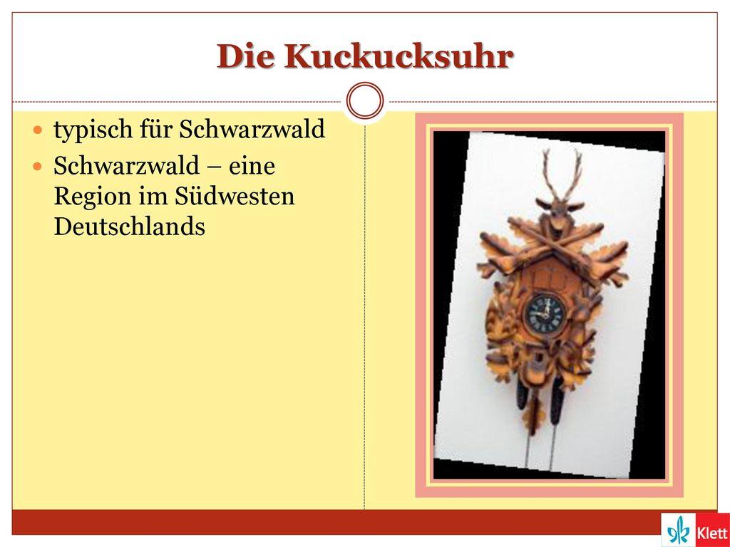 Die Kuckucksuhr typisch für Schwarzwald