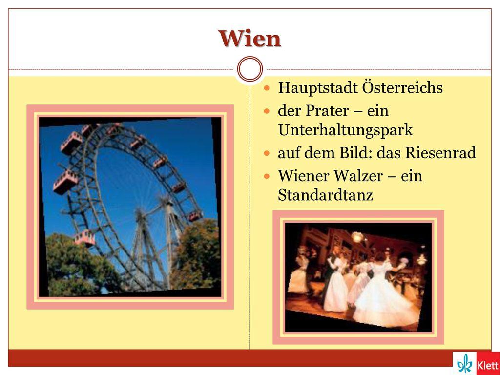 Wien Hauptstadt Österreichs der Prater – ein Unterhaltungspark