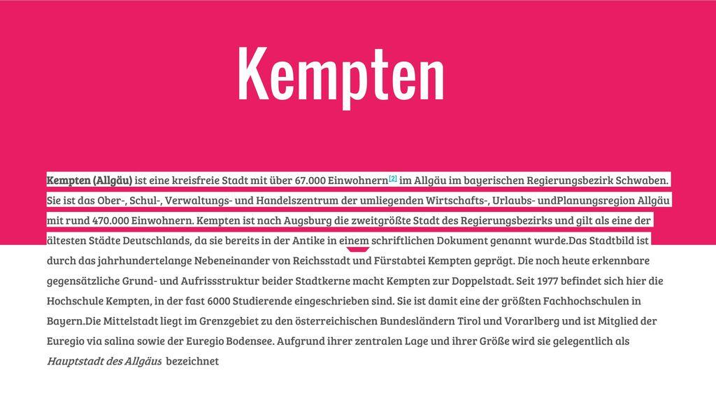 Kempten