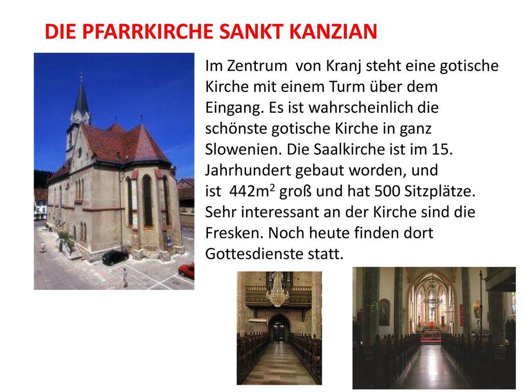 Die Pfarrkirche Sankt Kanzian