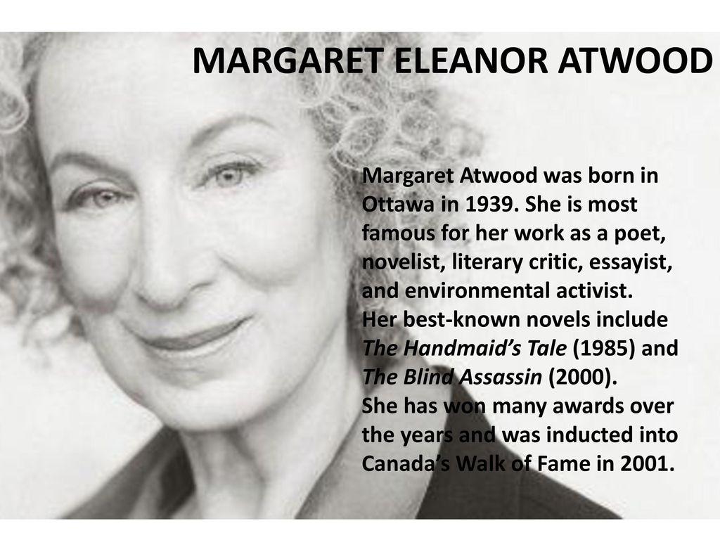 MARGARET ELEANOR ATWOOD