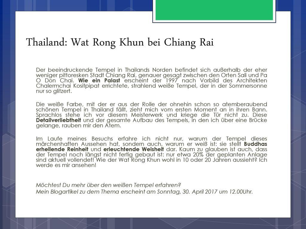 Thailand: Wat Rong Khun bei Chiang Rai