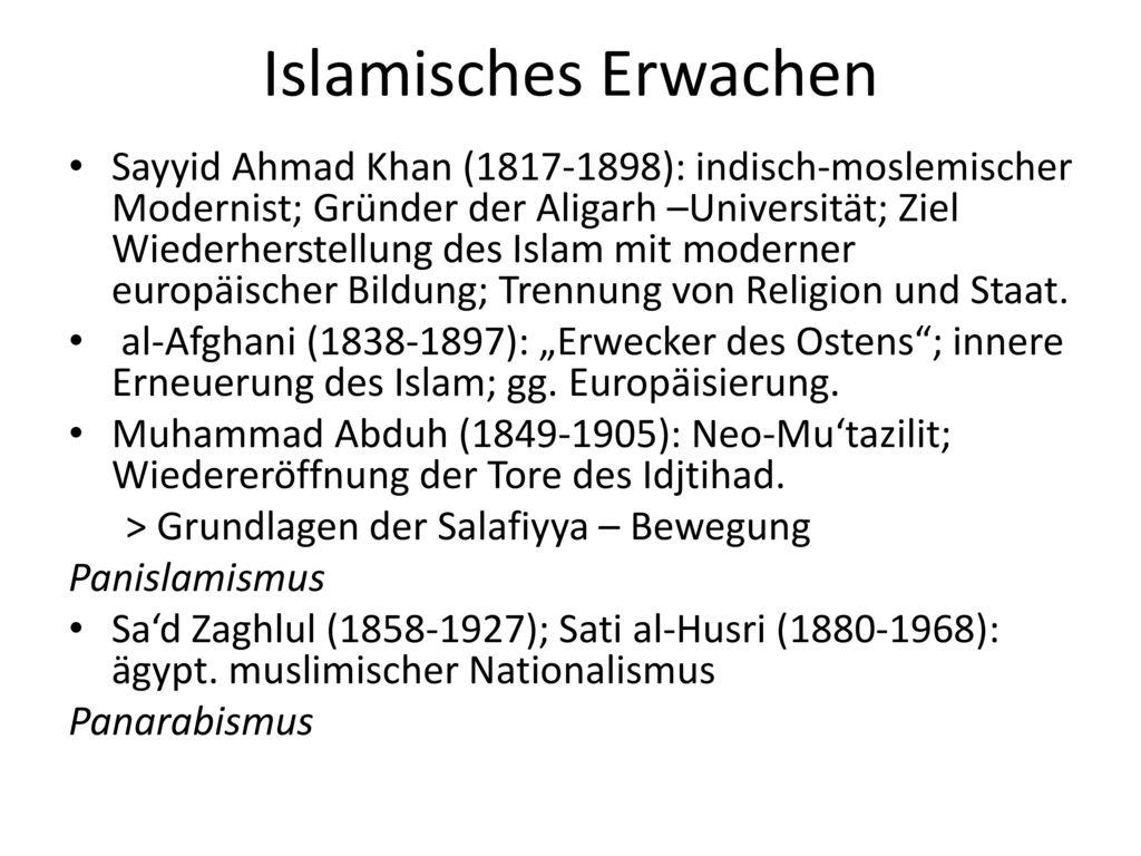 Islamisches Erwachen