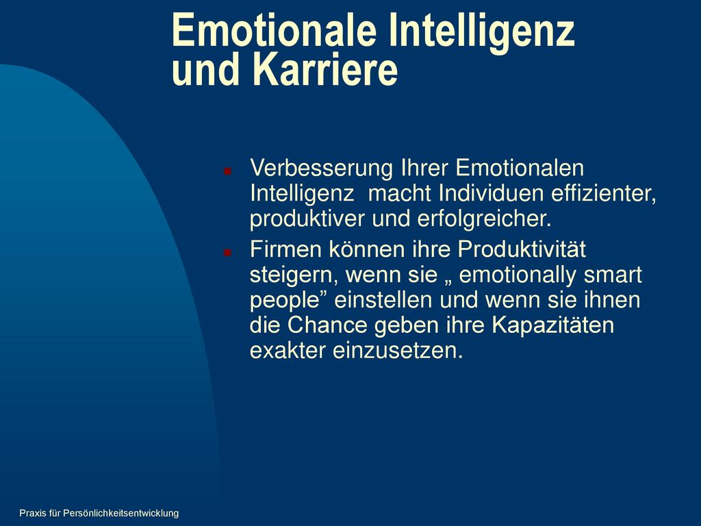 Emotionale Intelligenz und Karriere