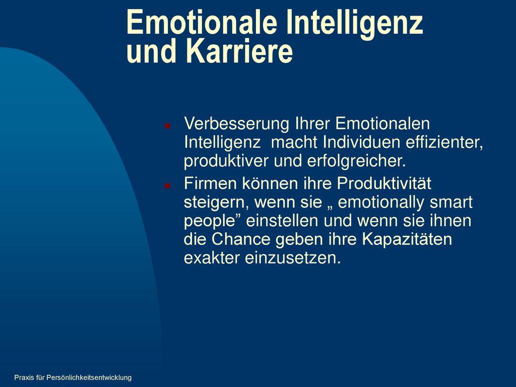 Emotionale Intelligenz und Karriere