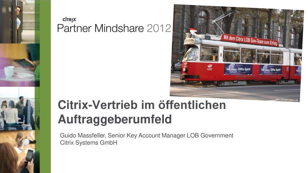 Citrix-Vertrieb im öffentlichen Auftraggeberumfeld